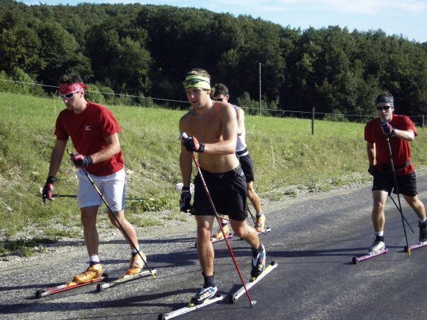 Ski roues classique