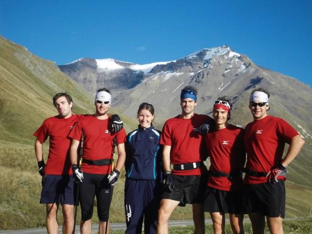 Les membres du team SEN présent sur ce 6ème stage.